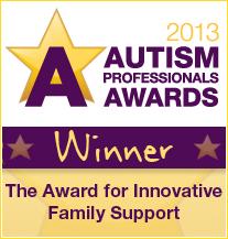 Autism Profession Awards 2013 - Winner